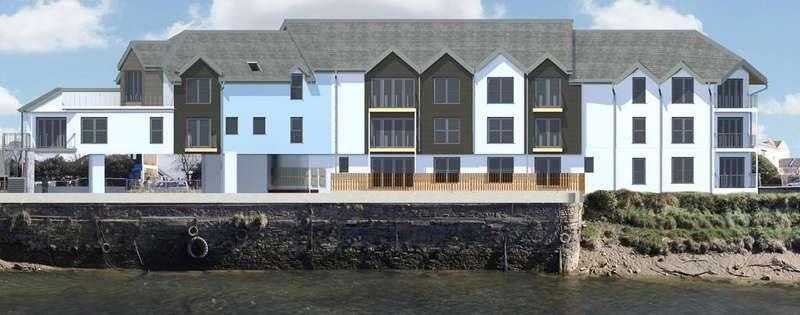 3 Bedrooms Flat for sale in Brunswick Wharf, Barnstaple
