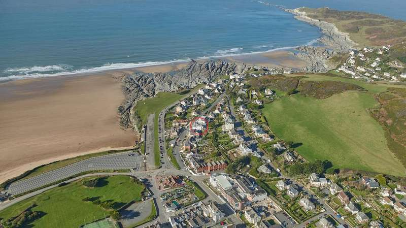3 Bedrooms Apartment Flat for sale in Bay View Road, Woolacombe