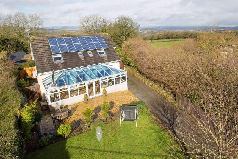 4 Bedrooms Detached House for sale in Denbury Road, Ogwell, Newton Abbot