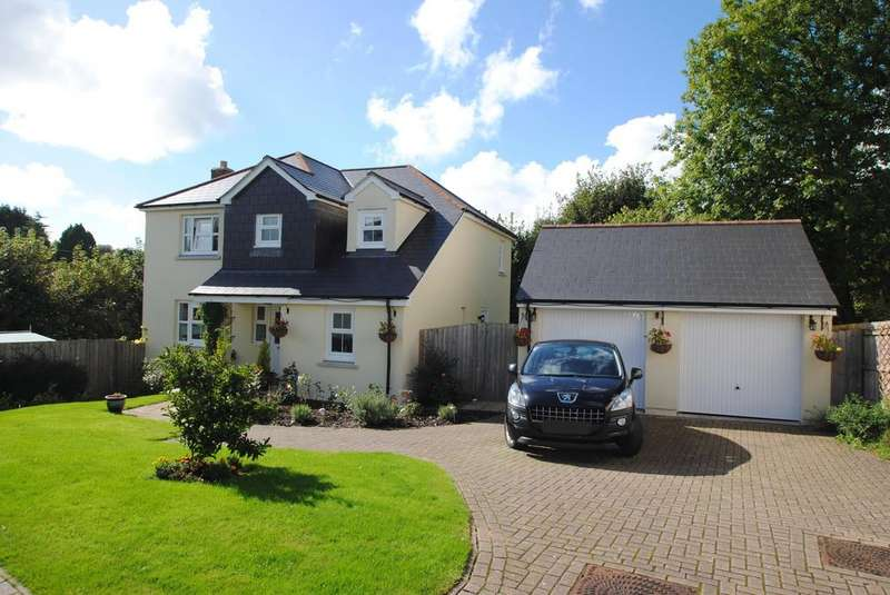 4 Bedrooms Detached House for sale in Ackland Close, Shebbear
