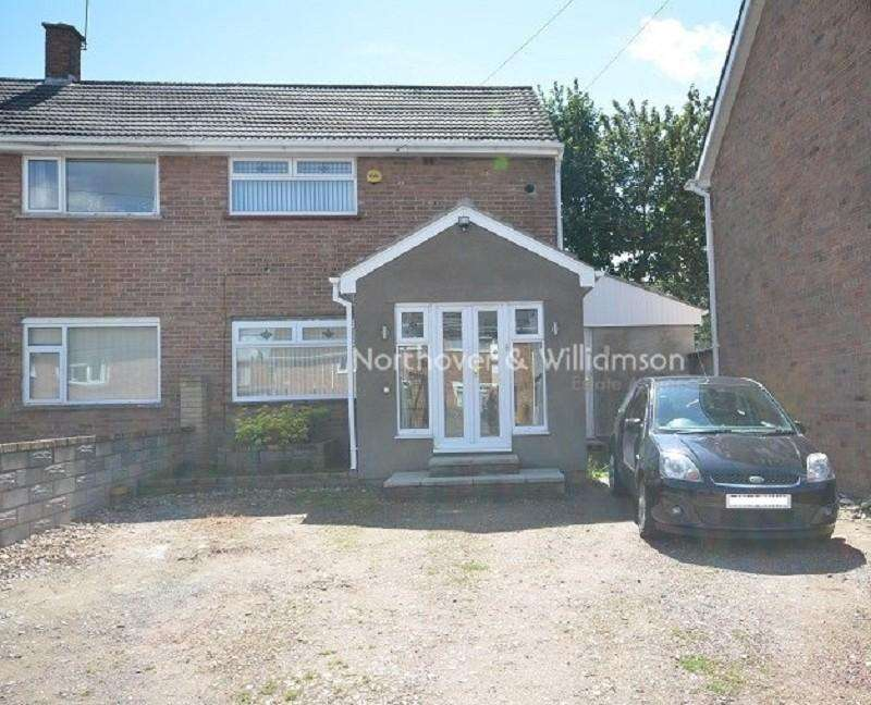 2 Bedrooms Semi Detached House for sale in Arnold Avenue, Llanrumney, Cardiff. CF3 5PP