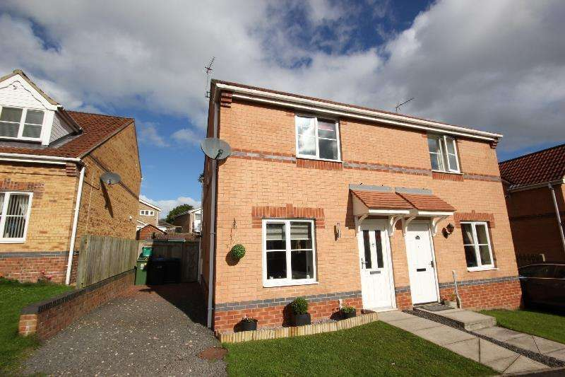 2 Bedrooms Semi Detached House for sale in Dickens Way, Crook