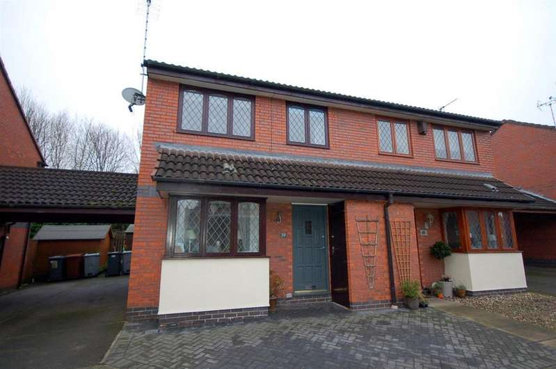 3 Bedrooms Semi Detached House for sale in Bailey Court, Alsager