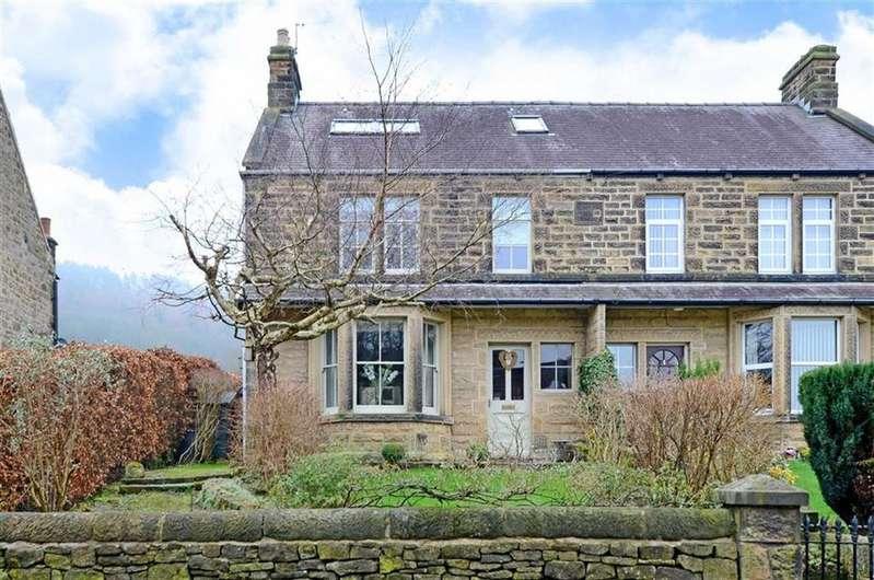 3 Bedrooms Semi Detached House for sale in 2 Stanton Villas, Chatsworth Road, Rowsley, Matlock, Derbyshire, DE4
