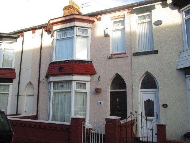 4 Bedrooms Terraced House for sale in WANSBECK GARDENS, PARK ROAD, HARTLEPOOL