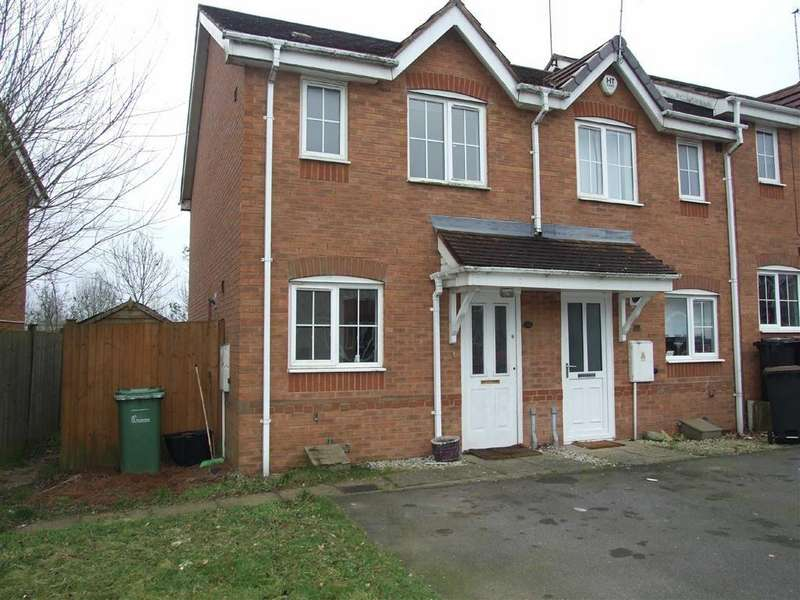 2 Bedrooms End Of Terrace House for sale in Woods Piece, Coventry