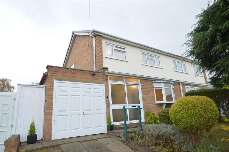 3 Bedrooms Semi Detached House for sale in 2 Broad Oak Crescent, Bayston Hill, Shrewsbury, SY3 0ND