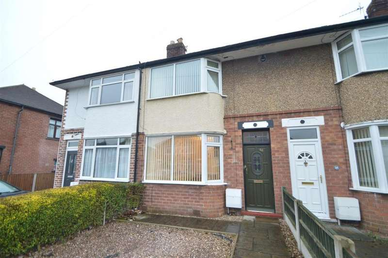 2 Bedrooms Semi Detached House for sale in 46 Rosedale, Shrewsbury, SY1 4HR