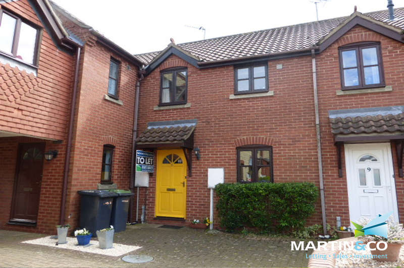 2 Bedrooms Terraced House for sale in Hunters Close, Waddington
