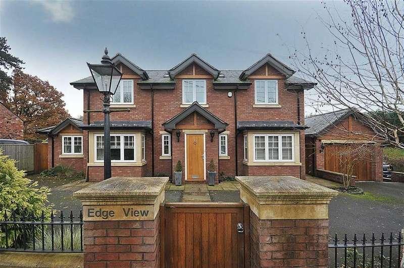 3 Bedrooms Detached House for sale in Alderley Road, Mottram St Andrew