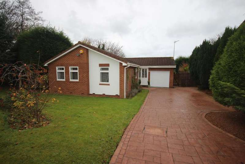 3 Bedrooms Detached Bungalow for sale in Claverley Drive, Backworth, Newcastle upon Tyne , NE27