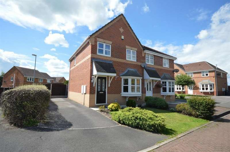 3 Bedrooms Semi Detached House for sale in Sandy Lane, Ettiley Heath