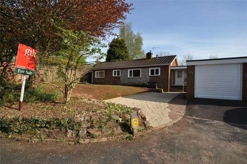 3 Bedrooms Bungalow for sale in Pomeroy Road, Tiverton, Devon, EX16