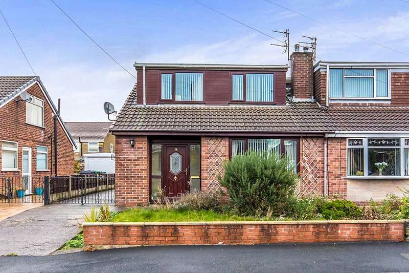 3 Bedrooms Semi Detached Bungalow for sale in Balmoral Avenue, Royton, Oldham, OL2