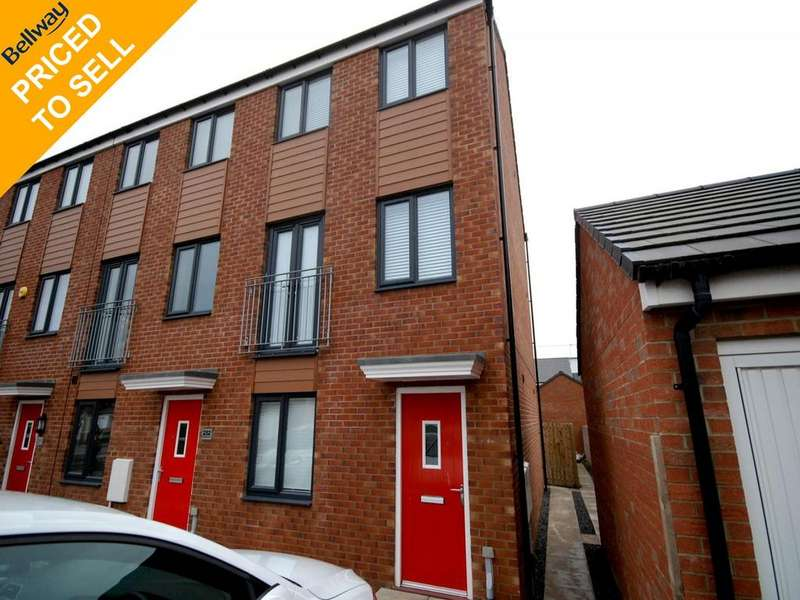 3 Bedrooms Town House for sale in St Aloysius View, Hebburn