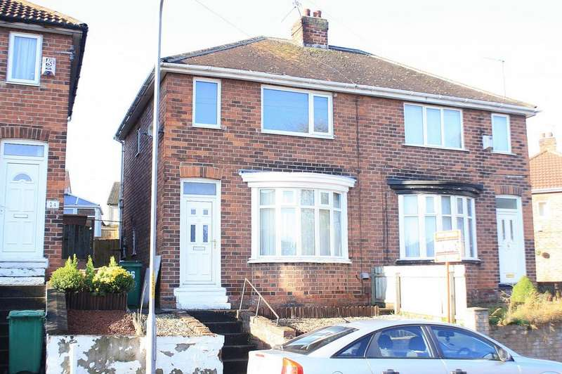 2 Bedrooms Semi Detached House for sale in Chadburn Road, Norton, TS20