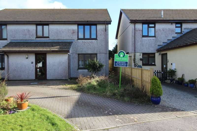 2 Bedrooms Flat for sale in Tor View, Bugle, St. Austell, PL26