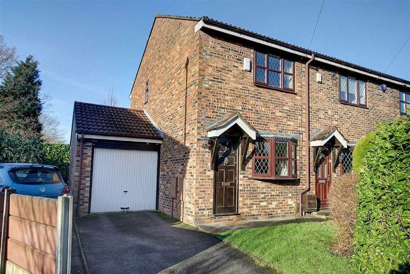 2 Bedrooms End Of Terrace House for sale in Dominic Close, Baguley