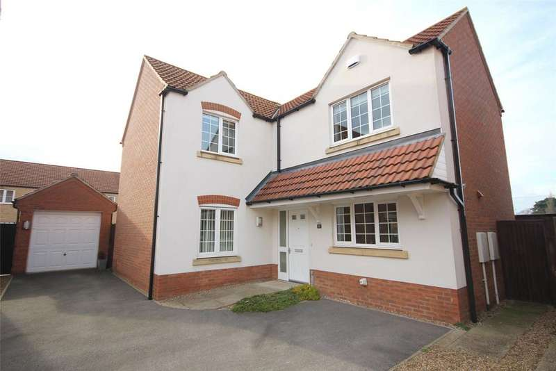 4 Bedrooms Detached House for sale in Pavillion Gardens, North Hykeham, LN6