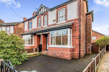 3 Bedrooms Semi Detached House for sale in Mornington Road, Sale, Greater Manchester