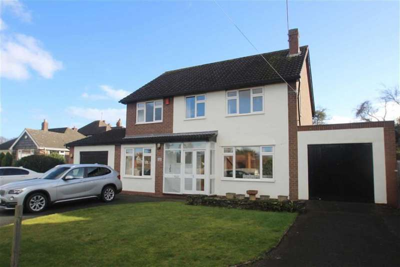 4 Bedrooms Detached House for sale in Roman Road, Shrewsbury
