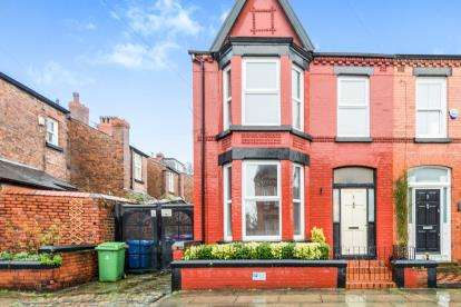 3 Bedrooms End Of Terrace House for sale in Berbice Road, Liverpool, Merseyside, L18
