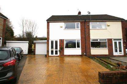 3 Bedrooms Semi Detached House for sale in Dalby Crescent, Blackburn, Lancashire, BB2