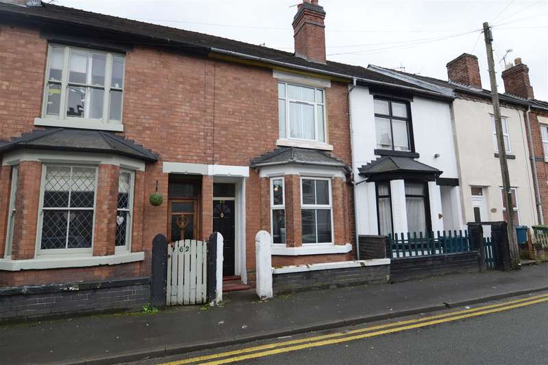 2 Bedrooms Terraced House for sale in Victoria Terrace, Stafford