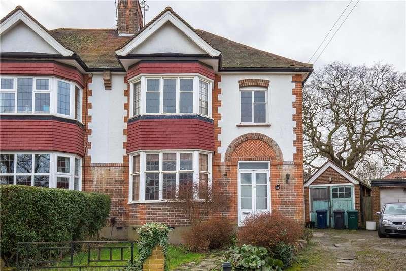 3 Bedrooms Semi Detached House for sale in Singleton Scarp, Woodside Park, London, N12