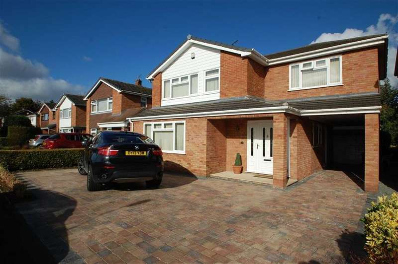 4 Bedrooms Detached House for sale in Carmen Avenue, Belvidere, Shrewsbury