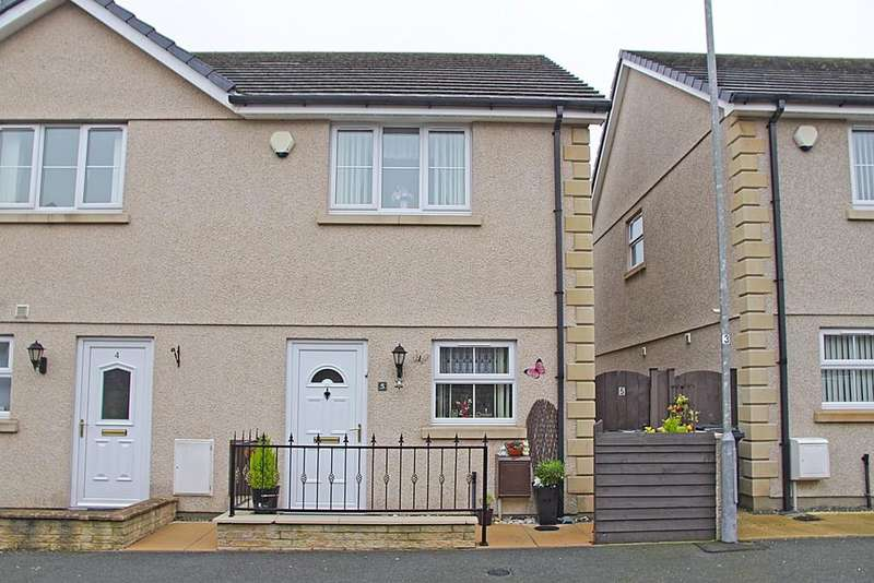 2 Bedrooms End Of Terrace House for sale in Felin Wen, Holyhead, North Wales