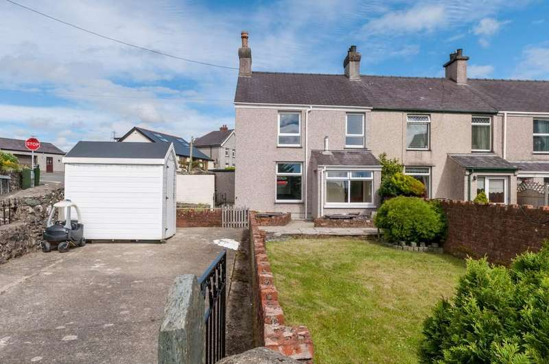 2 Bedrooms End Of Terrace House for sale in Penygroes, Caernarfon, North Wales