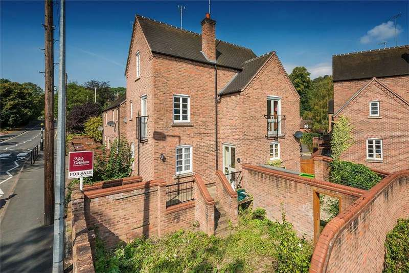 4 Bedrooms End Of Terrace House for sale in 4 Dale End Court, Coalbrookdale, Shropshire