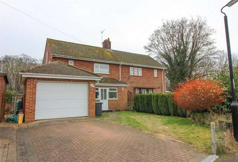 3 Bedrooms Semi Detached House for sale in Whiston Crescent, Clifton, Shefford, Bedfordshire