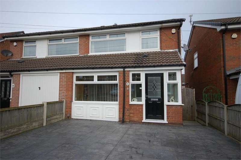 3 Bedrooms Semi Detached House for sale in Grimshaw Street, Sutton Leach, St Helens, Merseyside