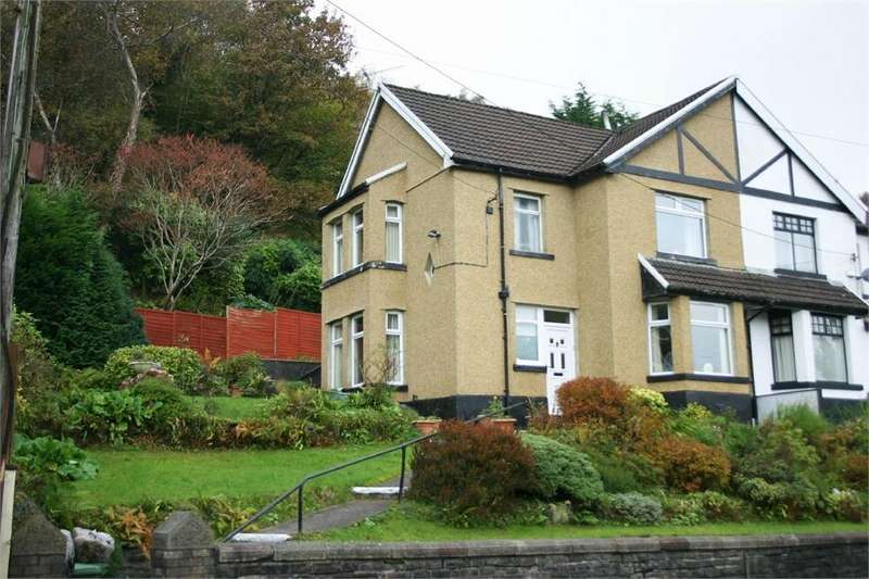 3 Bedrooms Semi Detached House for sale in Llantwit Road, Treforest, Pontypridd, Mid Glamorgan