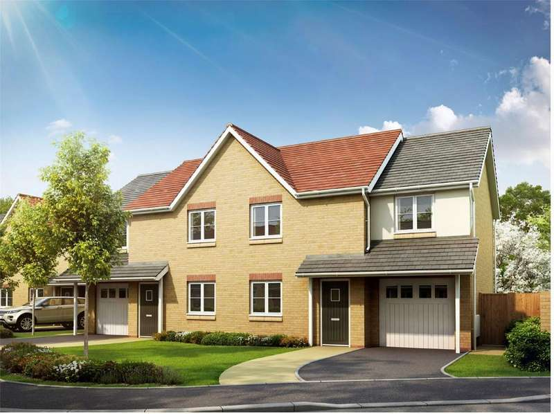 3 Bedrooms Semi Detached House for sale in Plot 1 The Coxwold, Oliver's Heights, Heather Rise