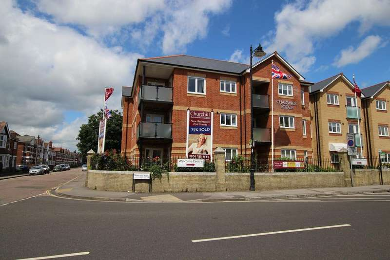 1 Bedroom Retirement Property for sale in Chadwick Lodge, Henstead Road, Southampton