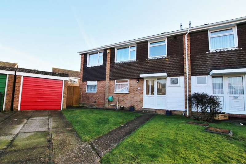 4 Bedrooms Semi Detached House for sale in Goodwin Close, Hailsham BN27