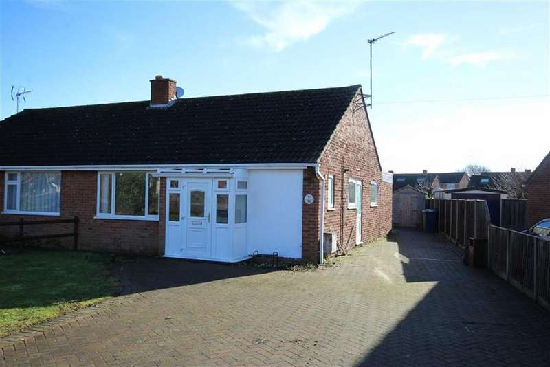 3 Bedrooms Semi Detached Bungalow for sale in Digby Drive, Mitton, Tewkesbury, Gloucestershire
