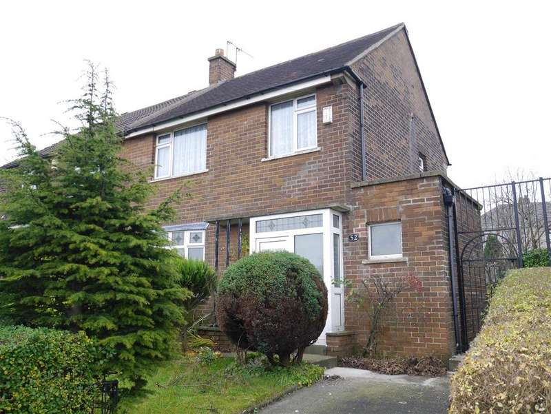 3 Bedrooms Semi Detached House for sale in Knowles Lane, Holmewood, BD4 9AE
