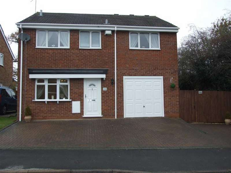 4 Bedrooms Detached House for sale in Cardigan Road, Bedworth