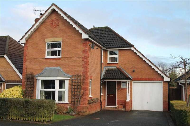 4 Bedrooms Detached House for sale in Normandie Close, Ludlow