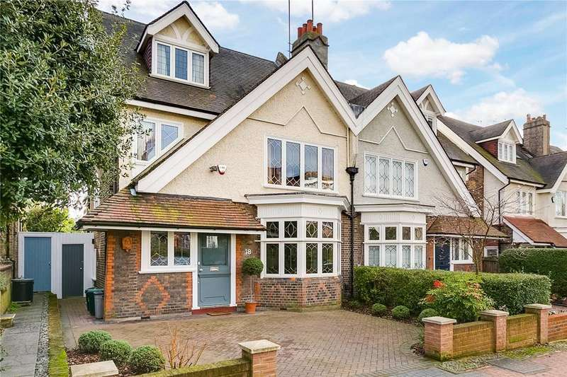 4 Bedrooms Semi Detached House for sale in Rodway Road, London