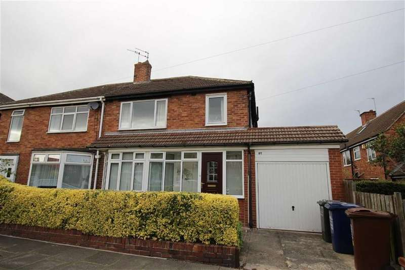 3 Bedrooms Semi Detached House for sale in Marlborough Avenue, Newcastle Upon Tyne, NE3