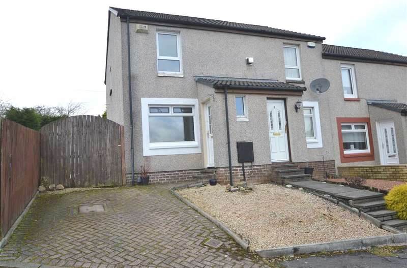 2 Bedrooms End Of Terrace House for sale in Ailsa Court, Hamilton, 2 bed end terraced with conservatory