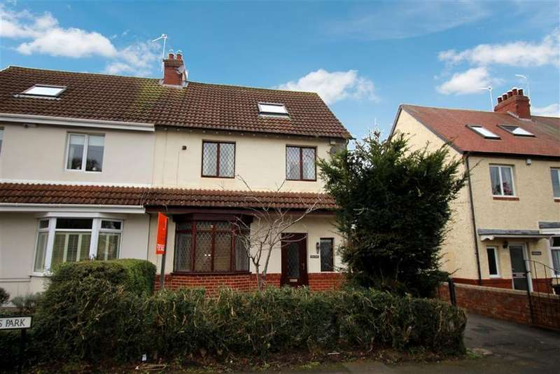 3 Bedrooms Semi Detached House for sale in Woodlands Park, Newcastle Upon Tyne, NE13