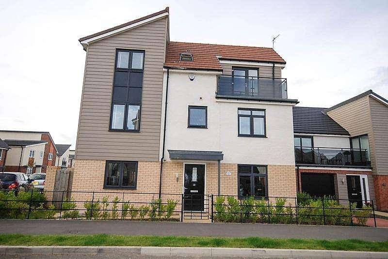 4 Bedrooms Detached House for sale in Leasingthorne Way, Brunton Park, Gosforth