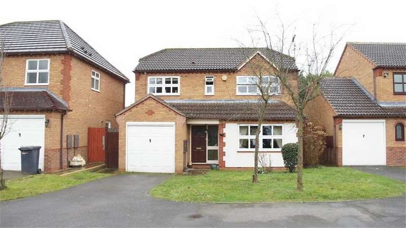 4 Bedrooms Detached House for sale in Treetops Close, Humberstone