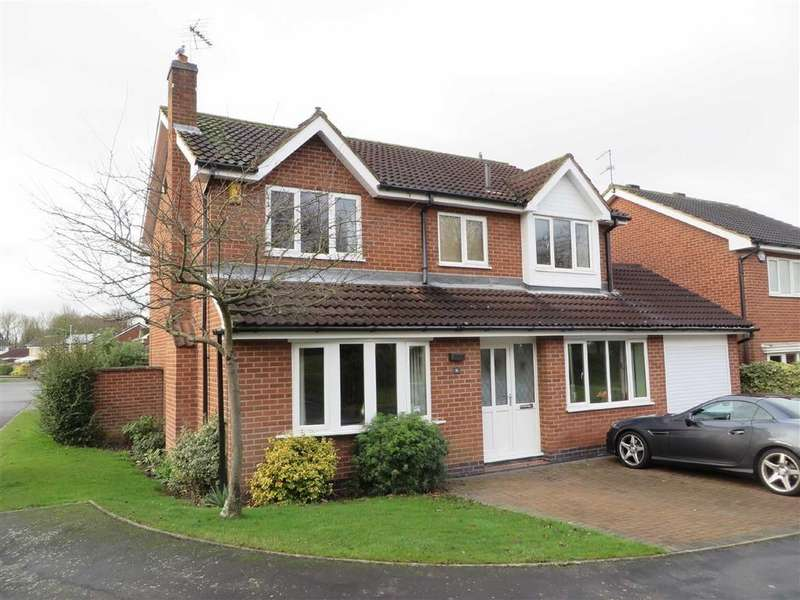 4 Bedrooms Detached House for sale in Bowmans Way, Glenfield